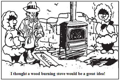 wood burning stoves canadian home inspection services